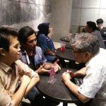 ist: Foto pertemuan Budiman Sudjatmiko dengan pengurus IKA UBB